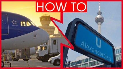 Video Flughafen Berlin Tegel Txl Weg Nach Berliner Visitberlin De