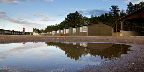 Memorial centre and museum Sachsenhausen near Berlin