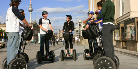 Berlin City Segway Tour Bebelplatz