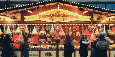 Christmas market in the centre of Berlin