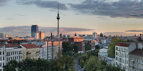 Sunset of Berlin