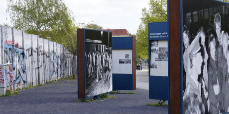 Former boarder crossing of the Berlin Wall