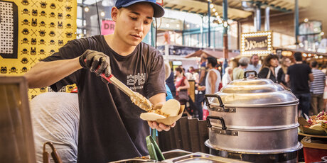 Street food: Markthalle Neun in Berlin
