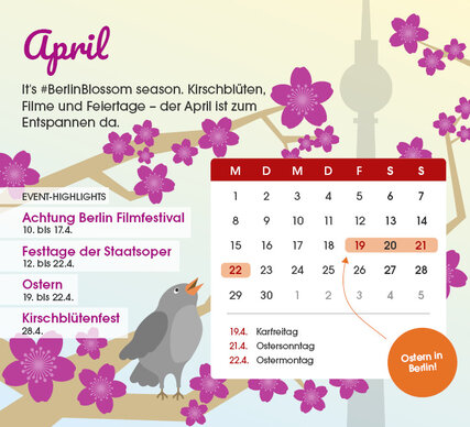 Berlin Events April 2019