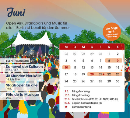 Berlin Events Juni 2019