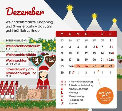 Wie Fällt Weihnachten 2019.Brückentage 2019 Visitberlin De