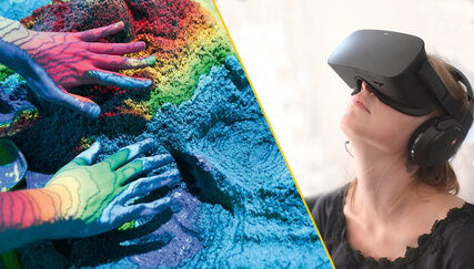Augmented Reality Sandbox/VR Erlebnisse