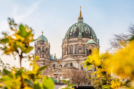 Berlin Cathedral in Springtime