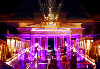 Brandenburg Gate at Festival of Lights