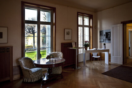 room in the Liebermann Villa