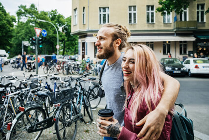 Young Couple in Berlin