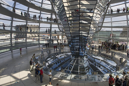 Dome of the Reichstag Berlin