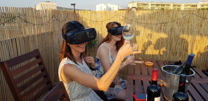 Virtual reality wine tastings and experiences in Berlin