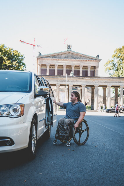 Taxi for wheelchair users in Berlin