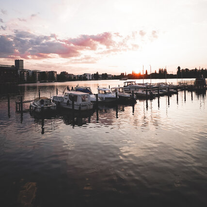 Rummelsburger Bucht in Berlin