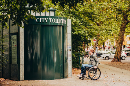 Barrierefreie Wall City Toiletten in Berlin