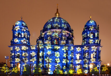 Festival of Lights Il Duomo di Berlino