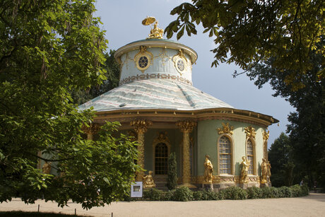 Chinese Pavillon in the Park Sanssouci in Potsdam