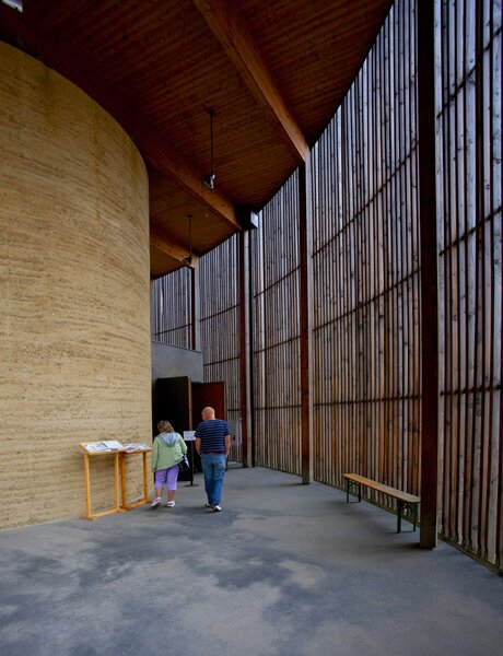 Chapel at Berlin Wall Memorial