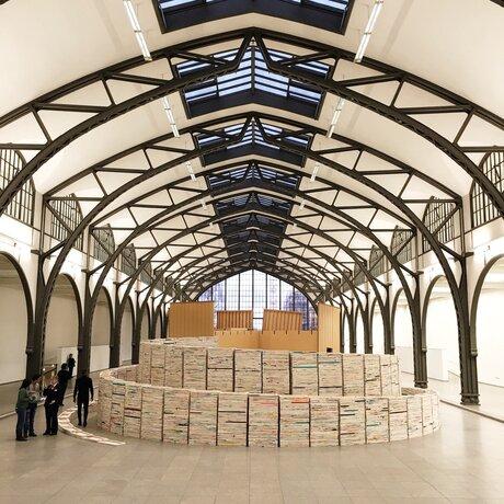 Hamburger bahnhof museum f r gegenwart berlin for Minimal art vertreter