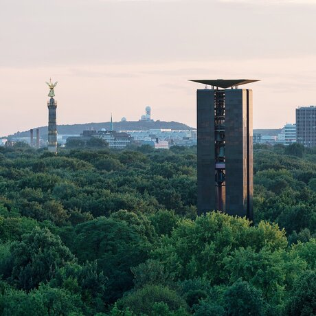 View across the Tiergarten
