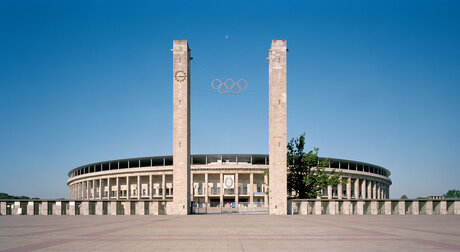 entrance of the Olympiastadion Berlin