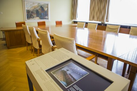 Meeting room at Stasi-Museum
