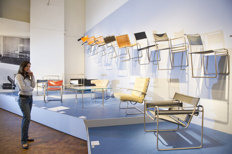 Chairs at Bauhaus-Archiv