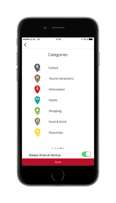 visitBerlin App for wheelchair user