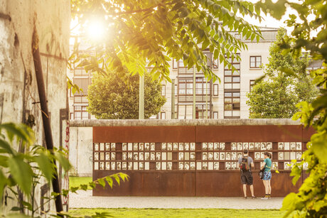 Berlin Wall Memorial in Summer