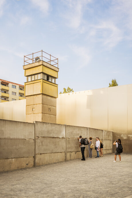 Watchtower at Berlin Wall Memorial