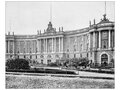 Image of the Bebelplatz in black and white