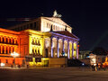 The Französische Dom (French Cathedral) and the Konzerthaus Berlin at the Festival of Lights