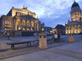 Gendarmenmarkt with Konzerthaus and Französischem Dom in Berlin