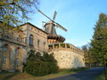 Historic mill in Sanssouci in Potsdam
