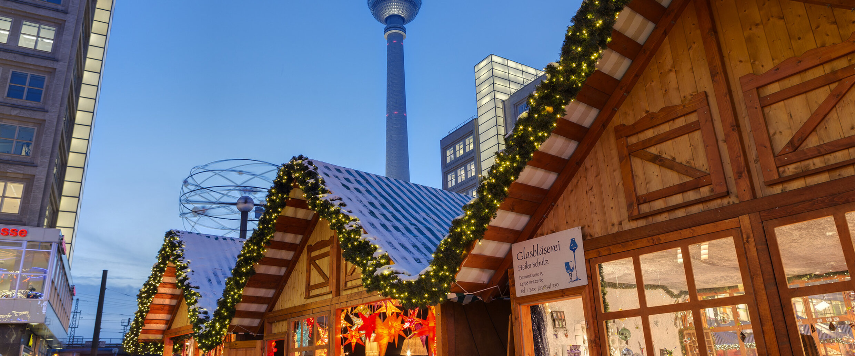 Mercatino di Natale di Alexanderplatz a Berlino