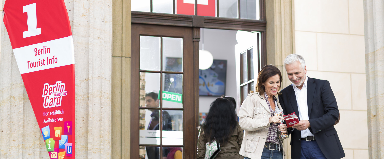 Berlin Tourist Info Im Brandenburger Tor