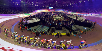 Six Day Race at Velodrom Berlin