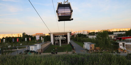 Cable car at Kienberg