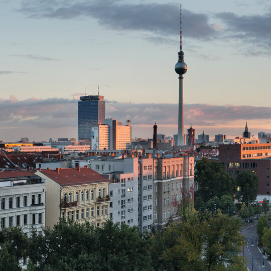 View over Berlin - Mitte