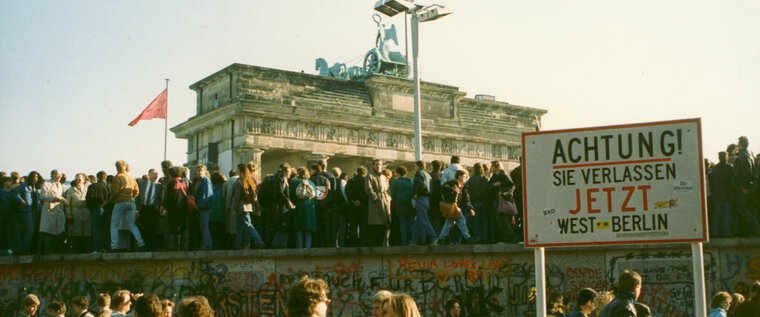 Berliner Wall in Berlin 1989