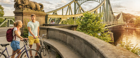 Glienicke Bridge in Berlin
