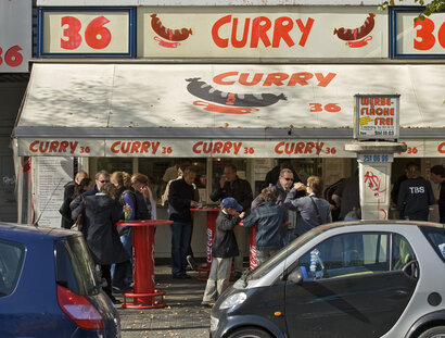 Imbiss Curry 36 am Mehringdamm in Kreuzberg