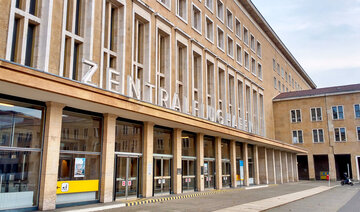 Tempelhof Airport, Entrance area