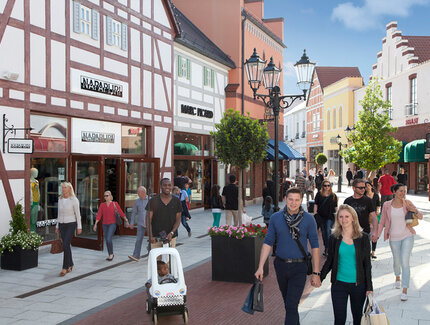 Shopping im Designer Outlet Berlin