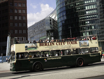 Berlin City Tour am Potsdamer Platz