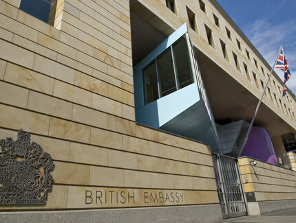 British embassy in Berlin