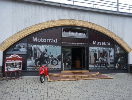 Entrance of 1. Berlin GDR Motorbikemuseum