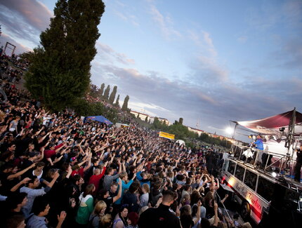 Fete de la Musique at Berlin Mauerpark on 21st June