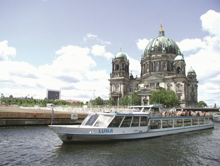 Boat tour in Berlin